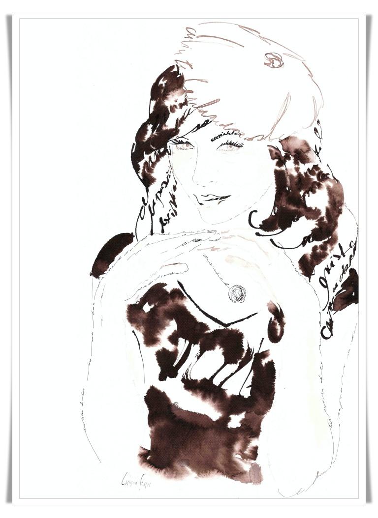 Figuration Feminine _ Carmen Bayer _ artist acuarele 18 mic
